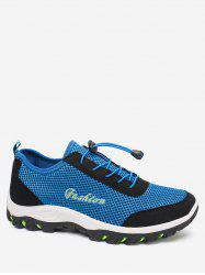 Letter Design Casual Breathable Sport Sneakers -