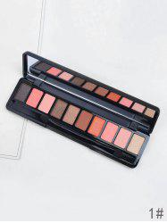 10 Colors Long-lasting Eyeshadow Compact with Brush -