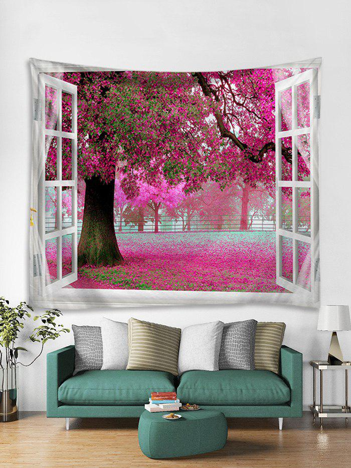 Shop Flower Trees Print Art Decoration Wall Tapestry