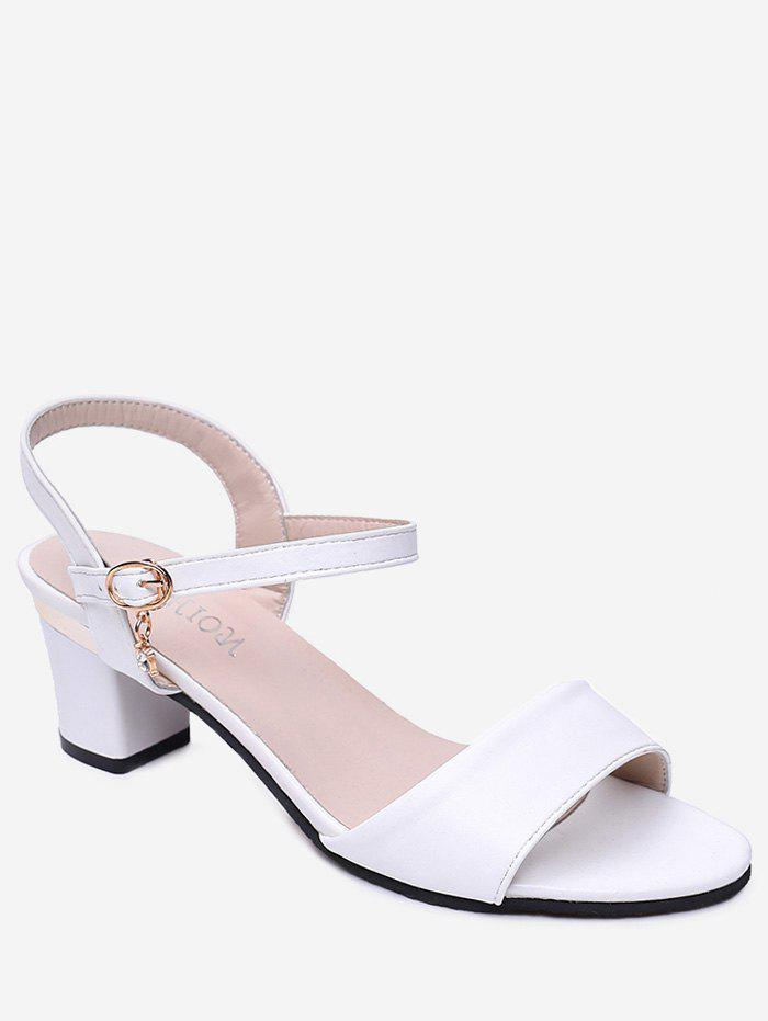 da820e9fffc8 36% OFF   2019 Solid Color High Heel Sandals
