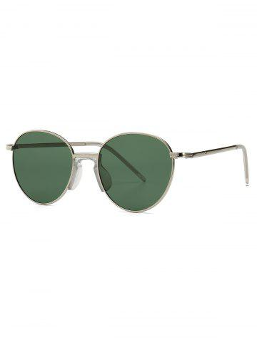 Metal Vintage Round Sunglasses