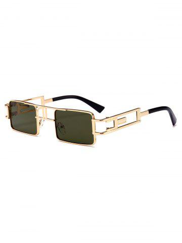 Hollow Leg Punk Rectangle Sunglasses