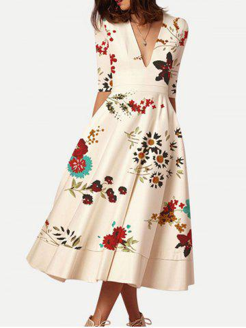 98f6c5eb5533 Half Sleeve Vintage Dress - Free Shipping, Discount And Cheap Sale ...