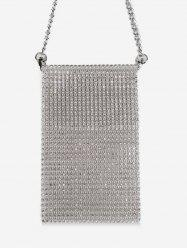 Glitter Rhinestone Mini Crossbody Bag -