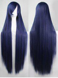 Side Bang Straight Long Cosplay Synthetic Wig -