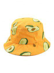 Avocado Print Bucket Hat -