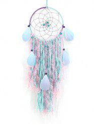 Handmade Colorful Feather Lace Dream Catcher -