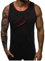 Scratches Patch Tank Top -
