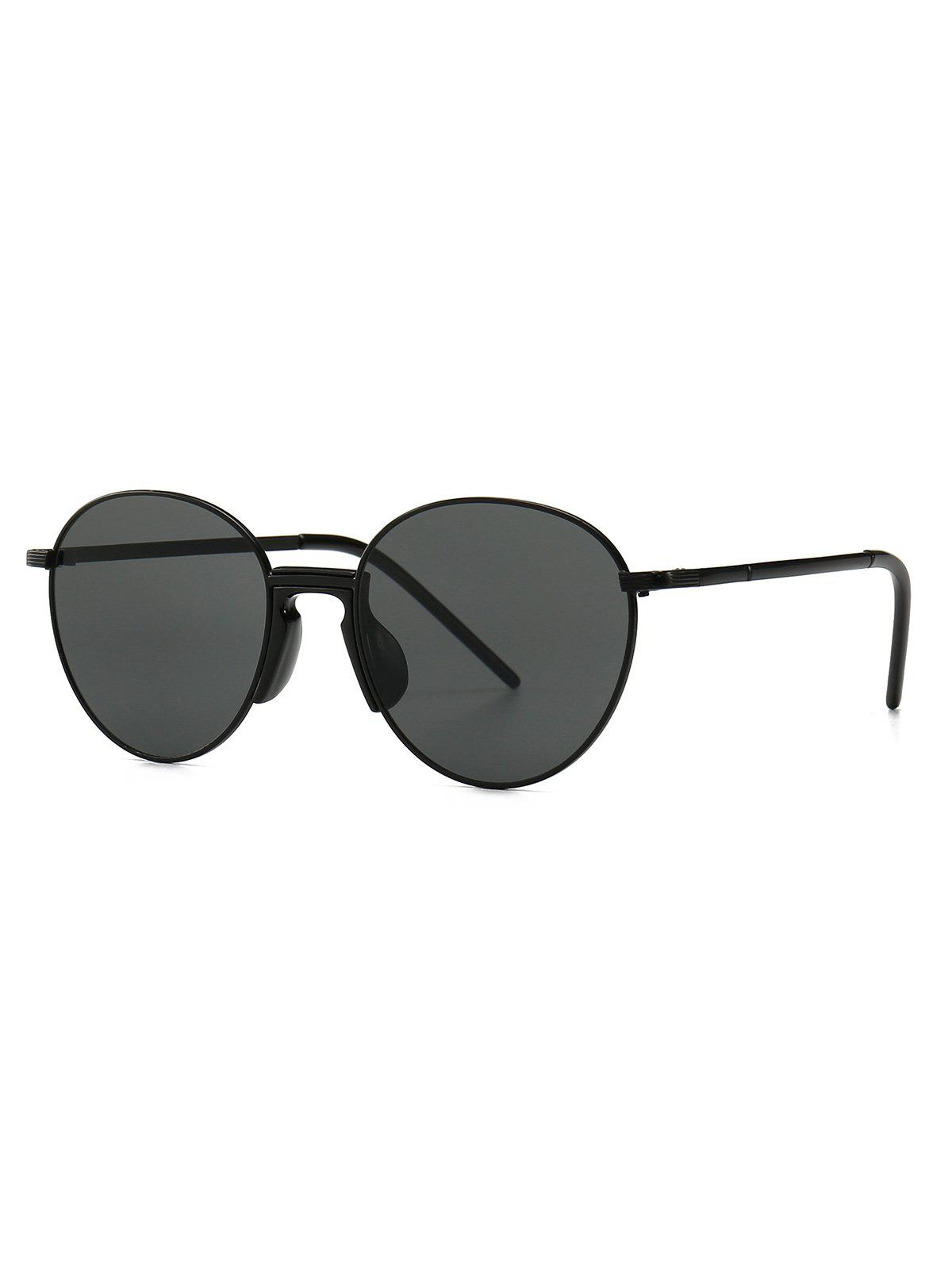 Discount Metal Vintage Round Sunglasses