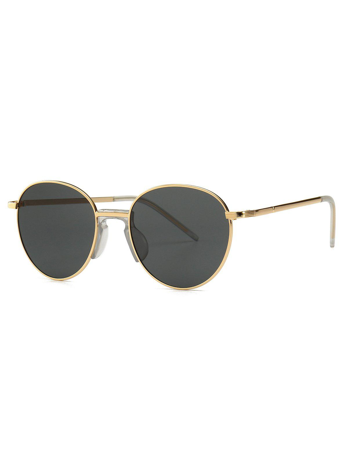 Outfit Metal Vintage Round Sunglasses
