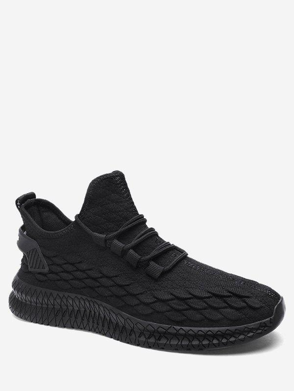 Shops Fish Scale Knit Sneakers