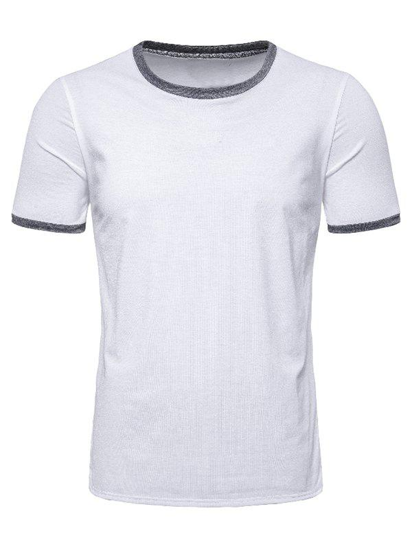 Affordable Casual Round Neck Short Sleeves T-shirt