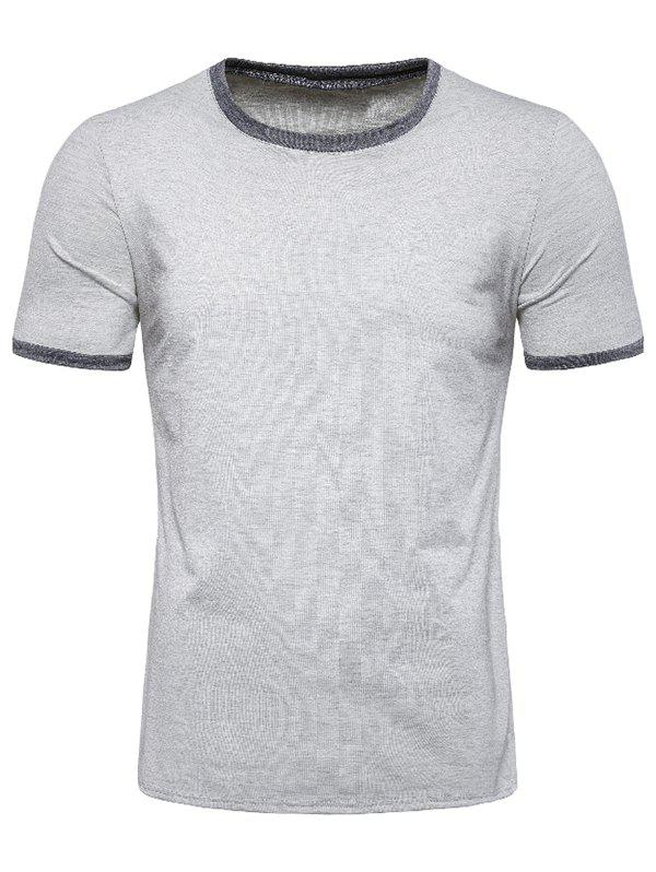 Trendy Casual Round Neck Short Sleeves T-shirt