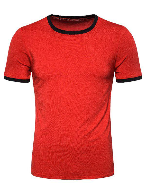 Fancy Casual Round Neck Short Sleeves T-shirt