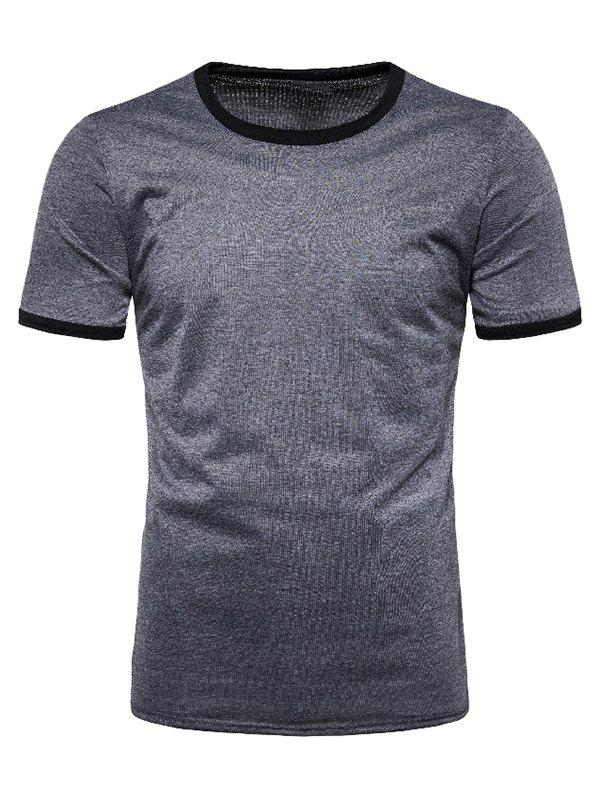 Best Casual Round Neck Short Sleeves T-shirt