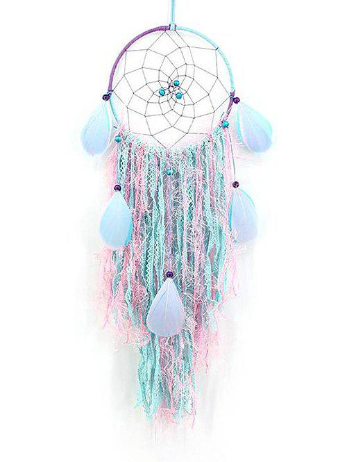 Outfits Handmade Colorful Feather Lace Dream Catcher