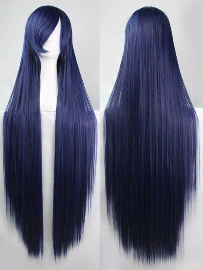 Online Side Bang Straight Long Cosplay Synthetic Wig