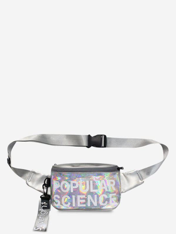 Chic Casual Holographic Crossbody Bag
