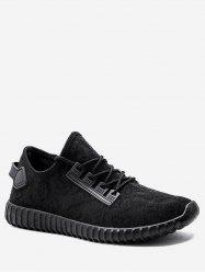 Jacquard Low Top Knit Sneakers -