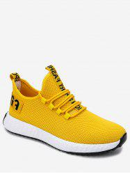 Letter Decor Outdoor Sneakers -