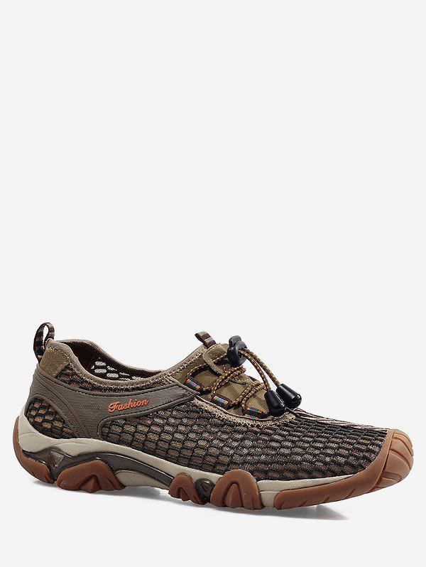 Discount Fishnet Breathable Casual Shoes