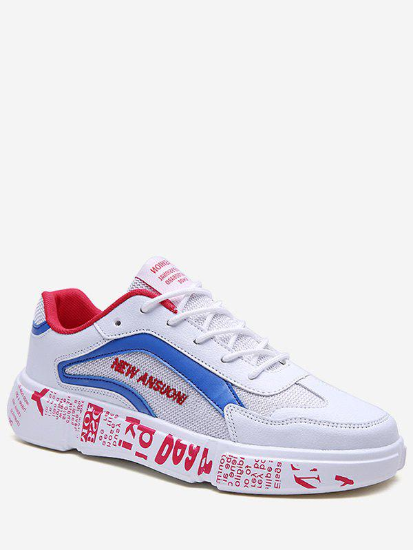 Store Letter Role Breathable Sneakers