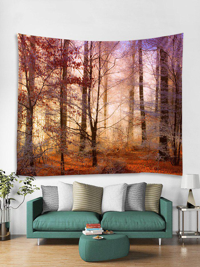 Unique Sunshine Forest 3D Print Wall Tapestry