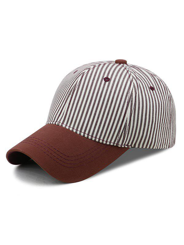 Outfit Striped Pattern Sport Baseball Cap