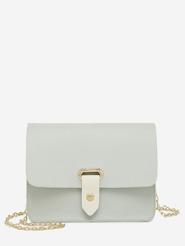 Store Simple Solid Chain Shoulder Bag