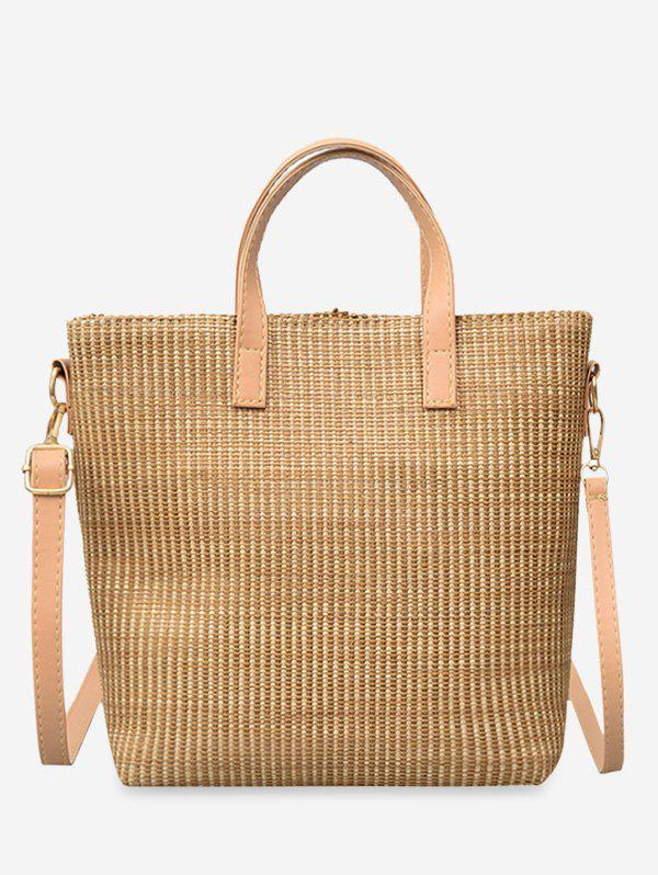 Shop Pastoric Straw Big Handbag