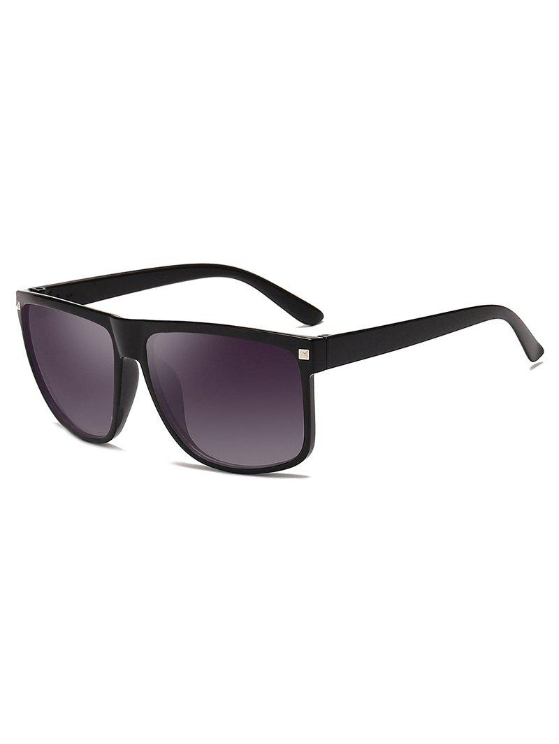 Rectangle Frame Simple Driver Sunglasses