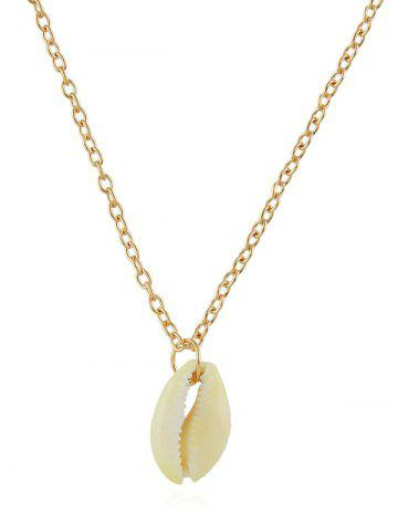 Chain Shell Pendant Necklace