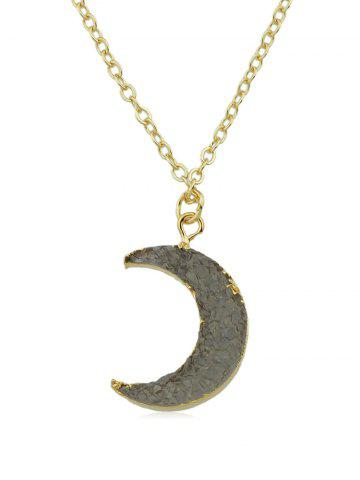 Vintage Moon Chain Necklace