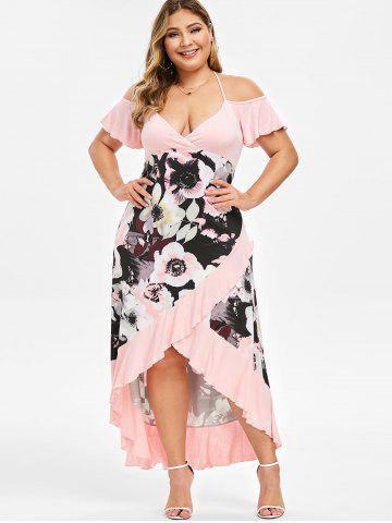 944f19f8d048b Plus Size Cold Shoulder Dress - Free Shipping, Discount And Cheap ...