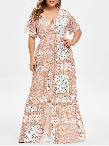 3e3472cc02 29% OFF] Plus Size Off The Shoulder Maxi Mermaid Dress | Rosegal