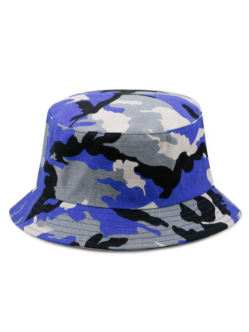Hot Camouflage Print Bucket Hat