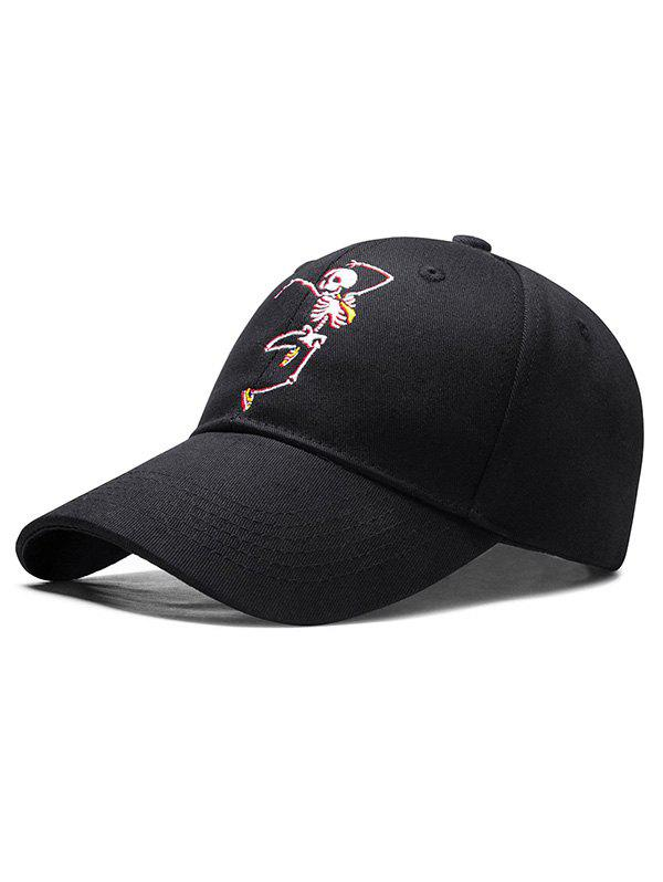 Cheap Embroidered Skeleton Man Baseball Cap
