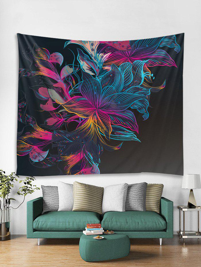 Abstract Flower Print Art Decoration Wall Tapestry