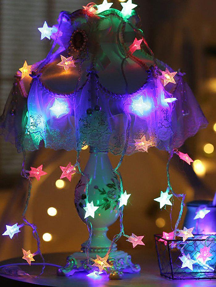 Outfit 5 Meters USB Star Shape LED String Lights