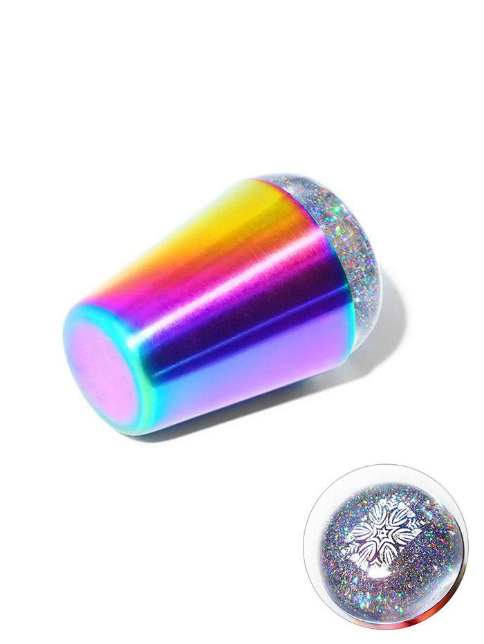 New Silicon Pattern Print Nail Beauty Tool Templates Seal