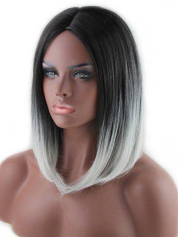 Medium Middle Part Straight Synthetic Wig