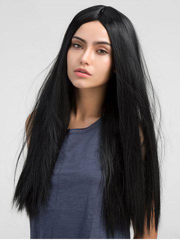 Straight Long Middle Parting Synthetic Wig
