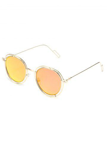 Driving Metal Outdoor Round Sunglasses