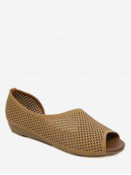 Hollow Out Design Breathable Sandals -
