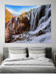 Waterfall Rock 3D Print Wall Tapestry -