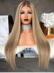 Synthetic Straight Long Center Part Wig -