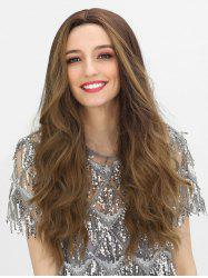 Center Part Synthetic Long Wig -