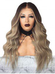 Body Wave Center Part Long Synthetic Wig -