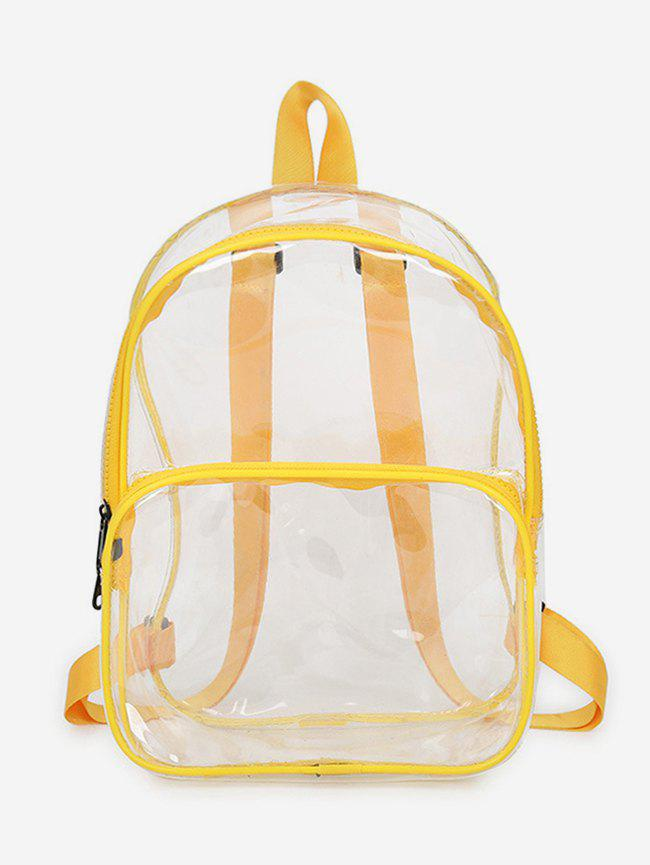 Unique Plastic Transparent College Backpack