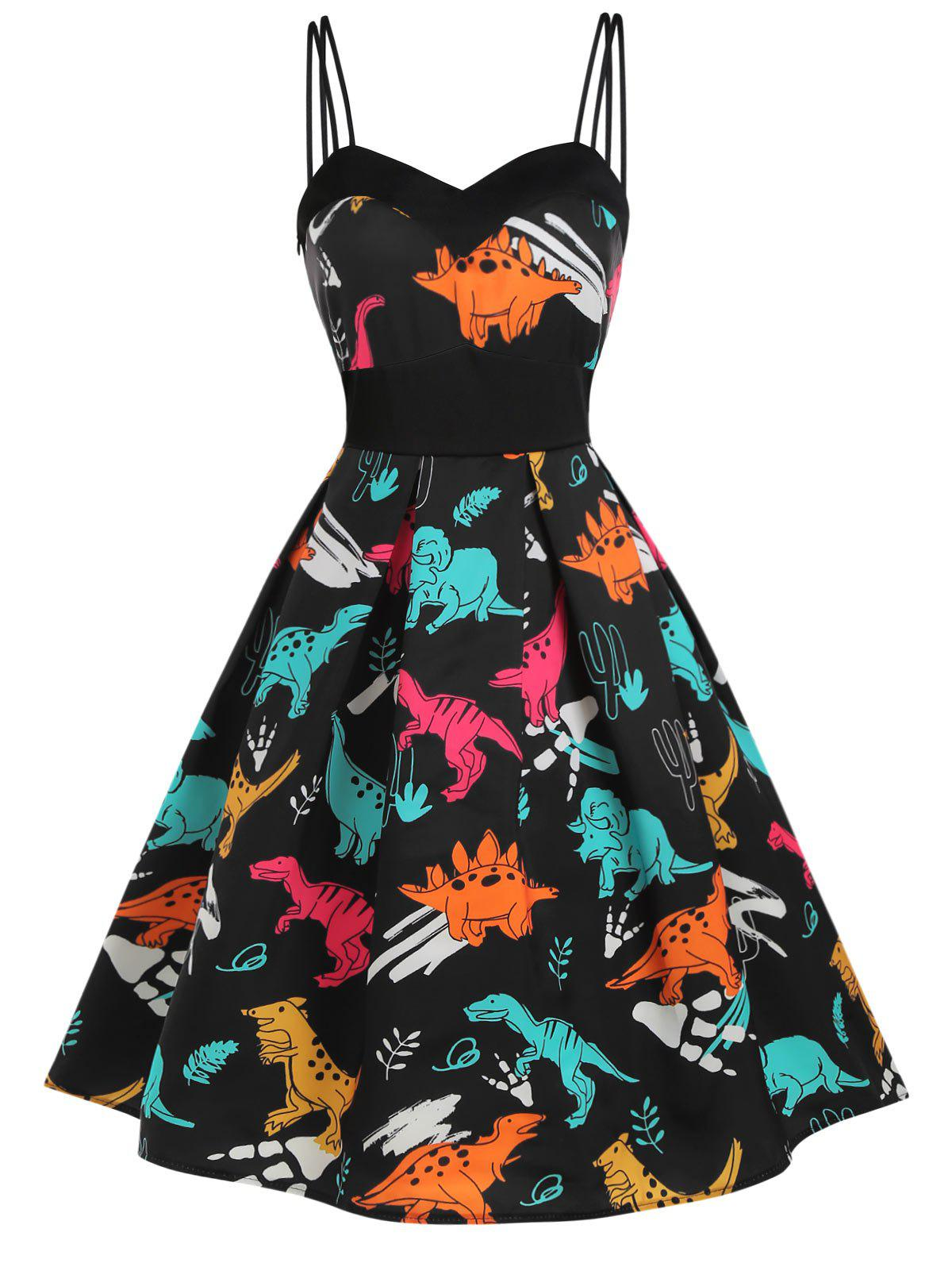 Discount Dinosaur Cami Empire Waist Dress